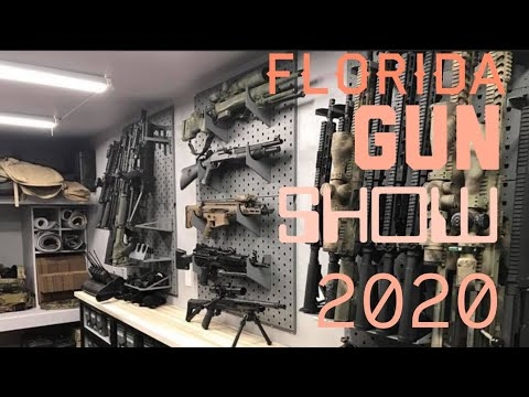FLORIDA Gun Show 2020!! Back and couldn't be sooner!