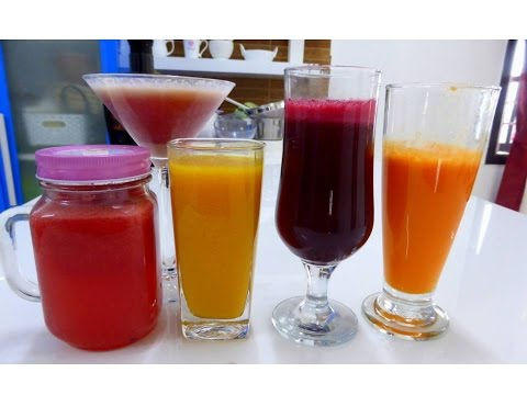 5 refreshing  fruit juices for summer | Monday to friday | Deespkitchen