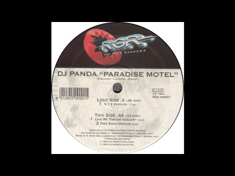 Dj Panda - Paradise Motel (Free Room Version) (Trance 1999)