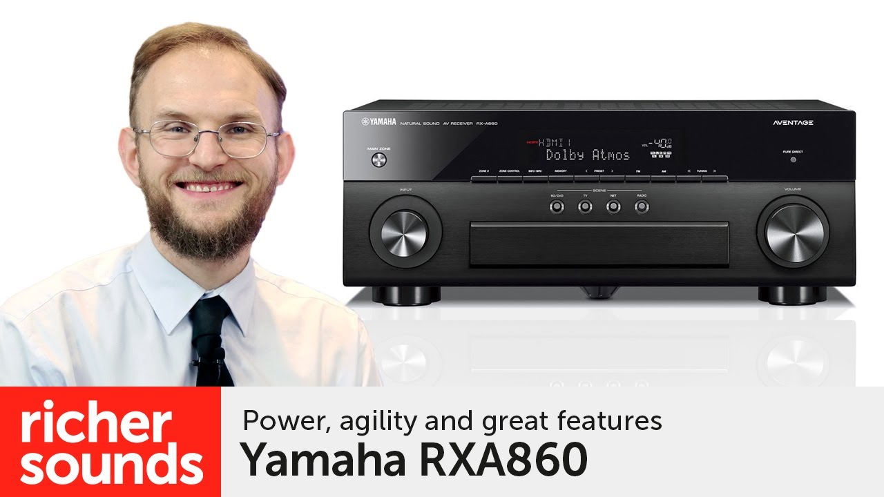 Yamaha Av Receiver Richer Sounds