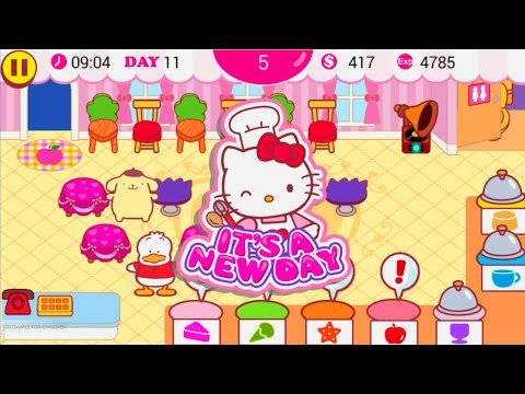 Hello Kitty Cafe HD Gameplay Video