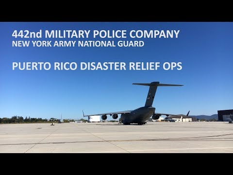 Puerto Rico Hurricane Relief Ops - NY Army National Guard