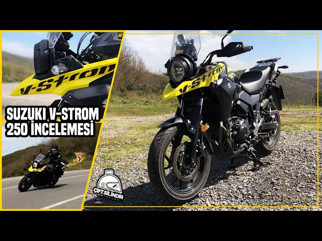 Suzuki V-Strom 250 Tüm Detaylar Bu Videoda