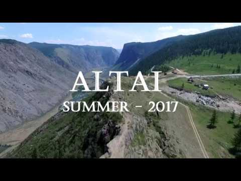 Полет над Горным Алтаем. Лето 2017.