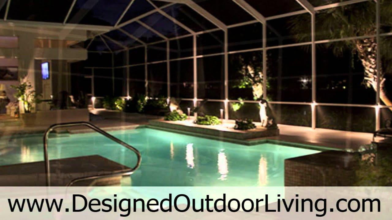 Pool Enclosure Lighting | Lighting Ideas