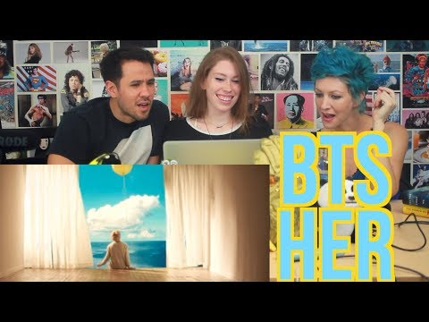 BTS - Her - LOVE YOURSELF Serendipity Comeback Trailer - REACTION!