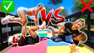 EXTREME Couples Yoga Challenge (FT Capron & Rydel)