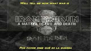 Iron Maiden For The Greater Good Of God Subtitulado Al Español With Lyrics Hd