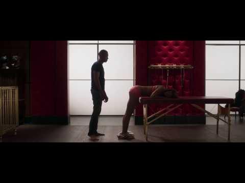 Fifty Shades of Black: spank scene