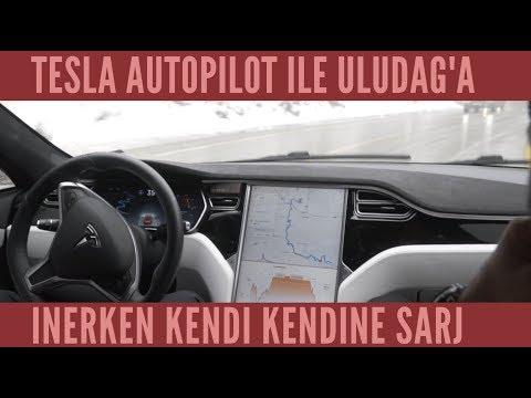 Autopilot ile Uludağ'a Çıktım! Enerji Tüketimi / Regen ile Şarj
