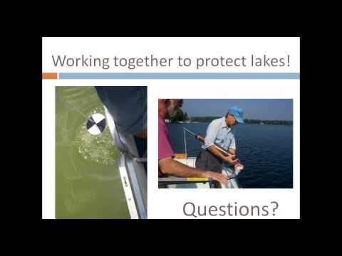 Cooperative Lakes Monitoring Program (CLMP) Training Webinar