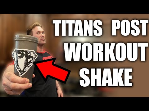 Mike O'Hearns Post Workout Recovery Shake