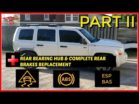 Jeep Patriot ESP BAS, ABS, And Traction Control Lights Part II