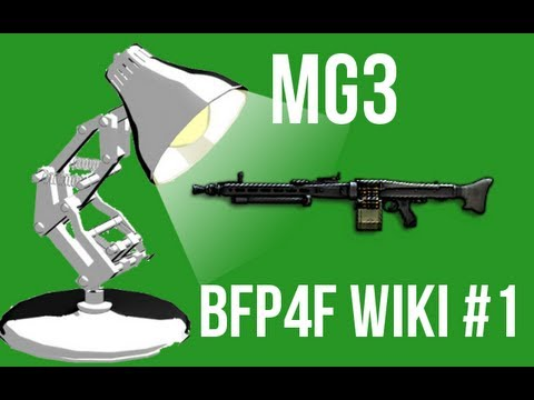 Battlefield Play4free Wiki #1 - MG3