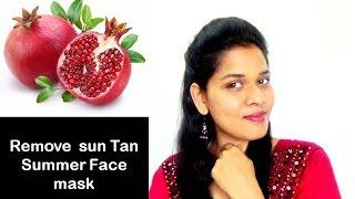 Remove sun tan by DOING THIS | Summer skin care mask| starnaturalbeauties