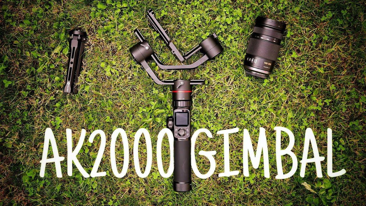 Best Professional Budget DSLR Gimbal? - Feiyu Tech AK2000 REVIEW - Lubu Films 4k