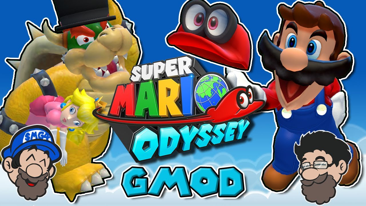 Mario Odyssey but we CAPTURE THE PRINCESS || Super Mario Odyssey GMOD
