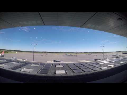 Aeroporto Luxemburgo - Timelapse - Benny Hill Yakety Sax