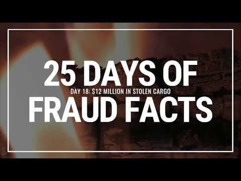 Day 18: $12 Million in Stolen Cargo