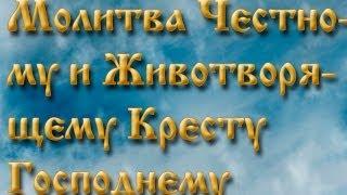 Молитва Честному и Животворящему Кресту Господнему.