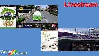(2017.05.26) Livestream: PlayStation 2 Japanese Bus & Train Simulator games