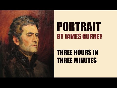 Portrait by James Gurney —3 Hours in 3 Minutes