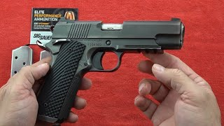 Dan Wesson Specialist Distressed Commander 1911 review & YB's Les Baer 1911's