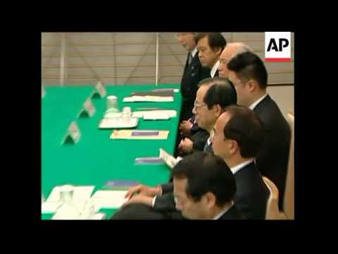 Israeli PM Olmert and Japanese counterpart Fukuda joint presser