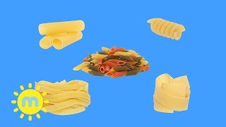 Weebl's - The Shapes that Pasta Makes | Animated Music Video | Songs | Milkshake!