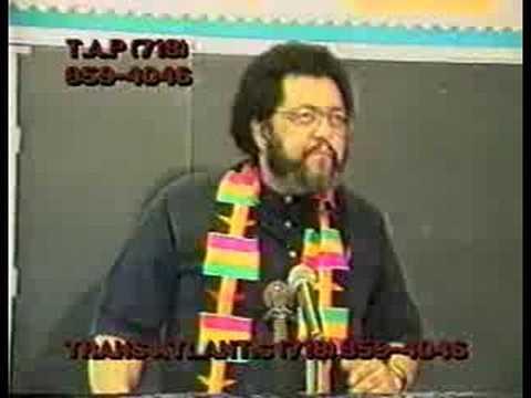 Dr. Barashango: Blacks in the Bible-pt.1