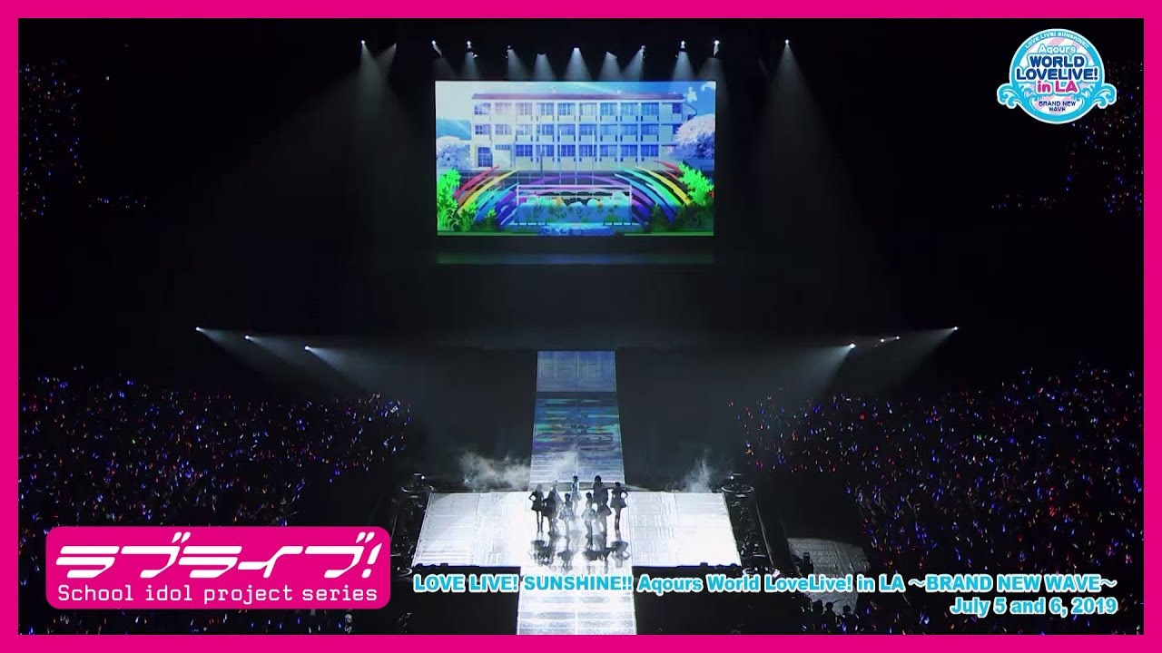 Aqours from Love Live! Sunshine!! Returns to Anime Expo