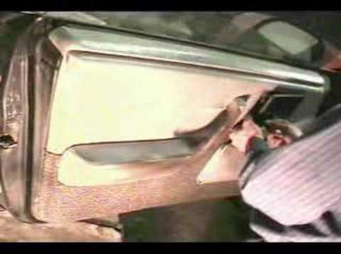 Remove Inner Door Panel