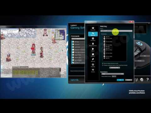 macro: สอนวิธีเซตมาโครเมาส์ Logitech G502 + Ragnarok Online sv EXE