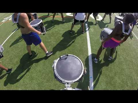 "2017 Blue Knights ""i"" SOLO Snare Cam"