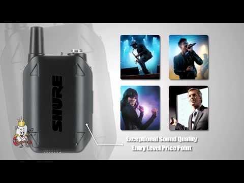 Shure GLX-D Digital Wireless Systems