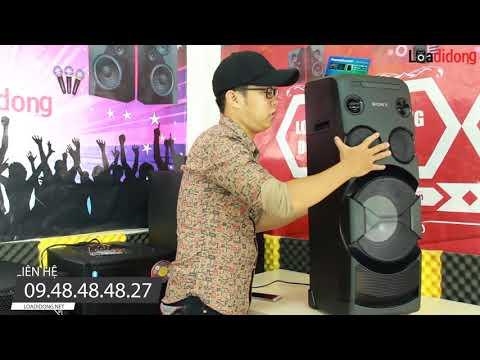 Loa NHẬT Hát karaoke và nghe nhạc cực hay SONY MHC -50D