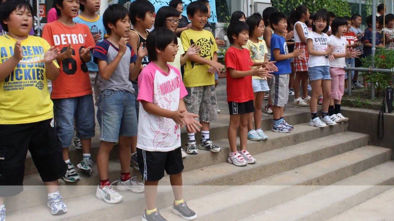 粟津小学校5年生が30人31脚石川県大会に参加しました(2009.8.30)