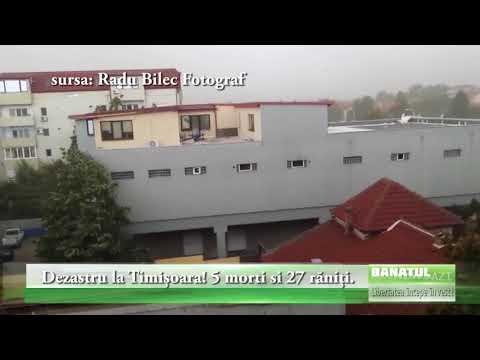 Dezastru la Timișoara! 5 morti si 27 răniți.