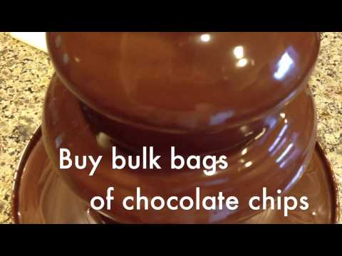 Chocolate Fountain Tips & Ideas