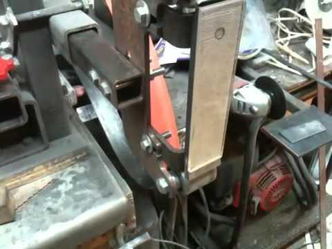 Northridge Tool 2x72 Belt Grinder Glass Platen Install Doovi