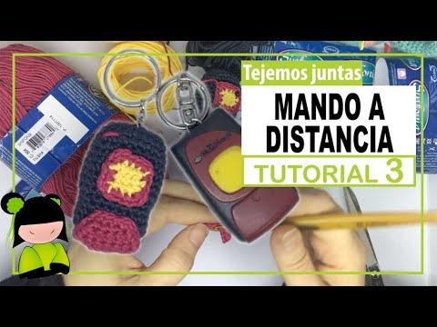 LLAVERO MANDO A DISTANCIA 3 🚗 AMIGURUMI PARA HOMBRE