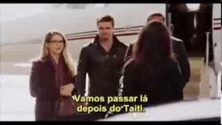 Oliver and Felicity - 6x02 - ARROW - Legendado - P3 (team arrow and Isabel Rochev)