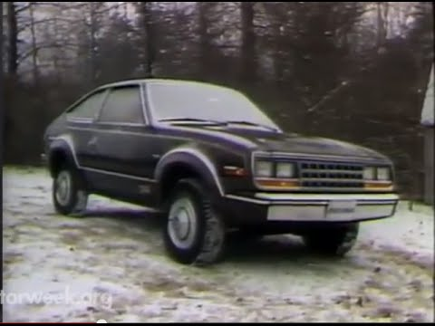 MotorWeek | Retro Review: '82 AMC Eagle SX4