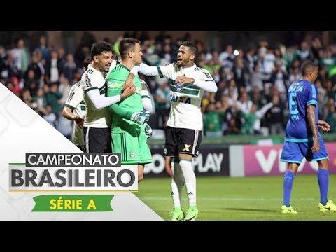 Melhores momentos - Coritiba 4 x 0 Avaí - Campeonato Brasileiro (04/11/2017)