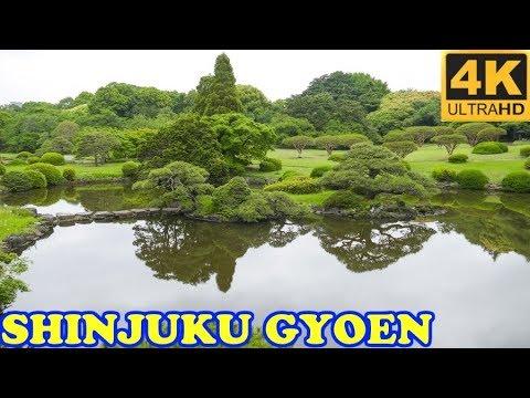 Shinjuku Gyoen National Garden, Tokyo in 4K 🌼 新宿御苑 🌼 Japan As It Truly Is