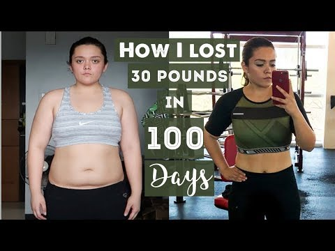 BEFORE & AFTER 30 POUNDS WEIGHT LOSS TRANSFORMATION IN 100 DAYS | MARGA BANAGA