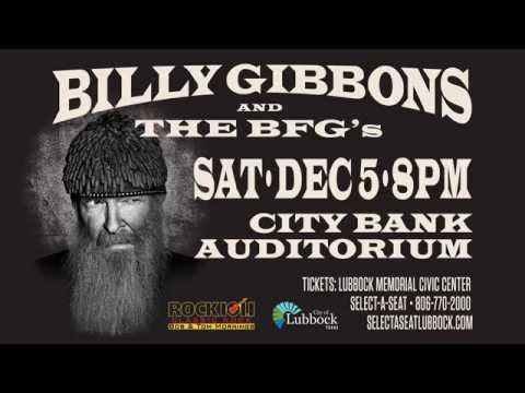 Billy Gibbons in Lubbock Texas