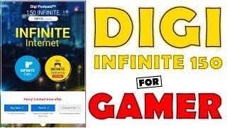 Digi Infinite 150 Untuk Gaming,Youtube,Movie dan Download