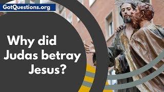 Why did Judas betray Jesus?     Judas Iscariot in the Bible