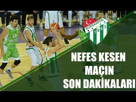 Nefes Kesen Maçın Son Dakikaları - Bursaspor Basketbol 69-68 Mamak Bld Yeni Mamak Spor